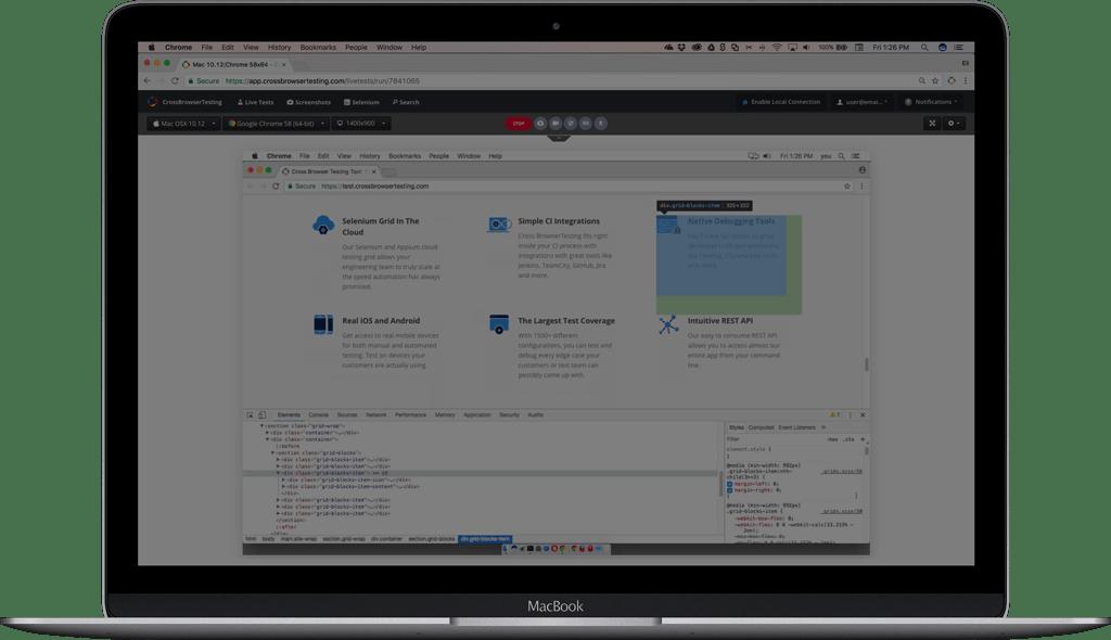 Live Testing And Debugging On Browsers Like Safari Amp More