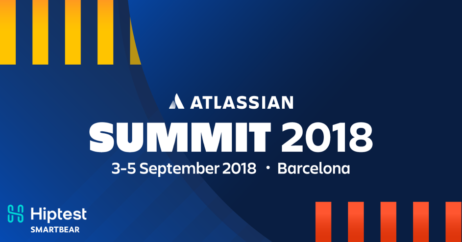 Hiptest will be at the Atlassian Summit Barcelona 2018