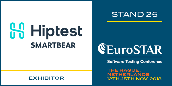 The Hiptest team will be at Eurostar The Hague 2018