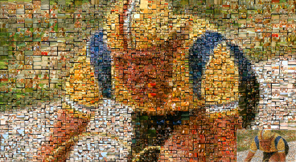 breaking away mosaic