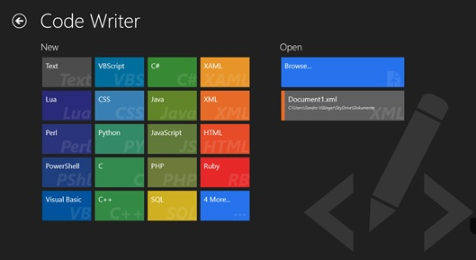 8 Great Code Editors for Windows 8 & RT – for Free or Cheap!