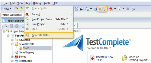 Simplifying Data-Driven Testing With TestComplete's Automatic Data