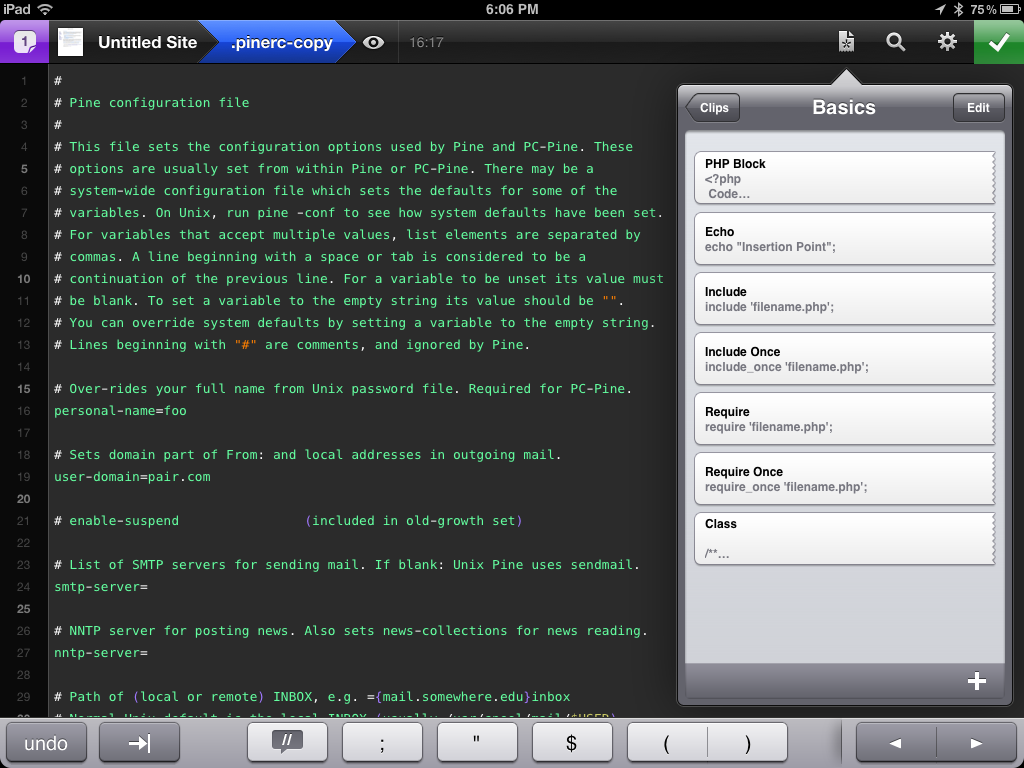 15 of the Best Code Editors For the iPad – For Free or Very