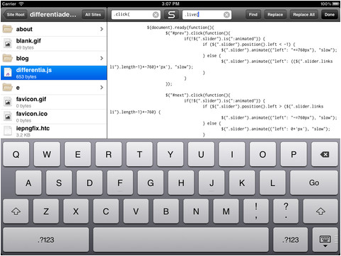 15 of the best code editors for the ipad for free or very cheap