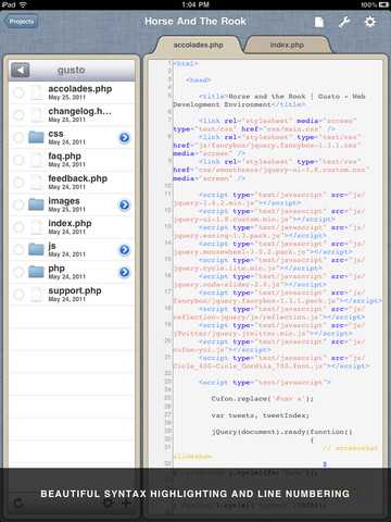 15 of the Best Code Editors For the iPad – For Free or Very Cheap