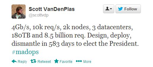 Open Source Obama Tweet