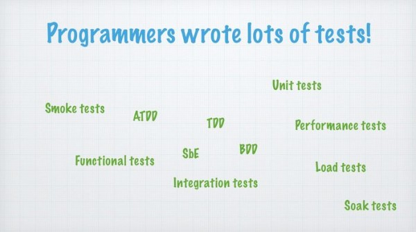 Programmers-Write-Tests
