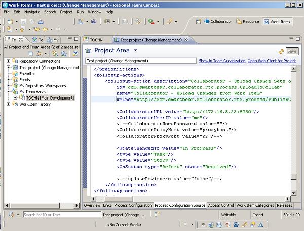 Project-Area-Configuration