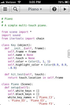 Python-Piano