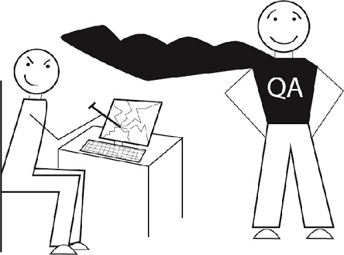 QA Dual Personality Illustration