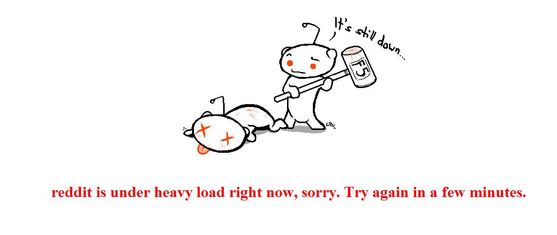 reddit under heavy load