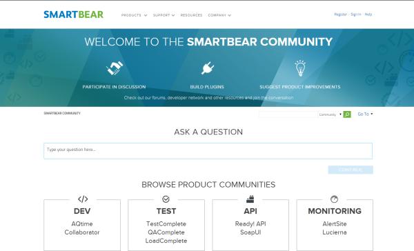 SmartBear Community Picture