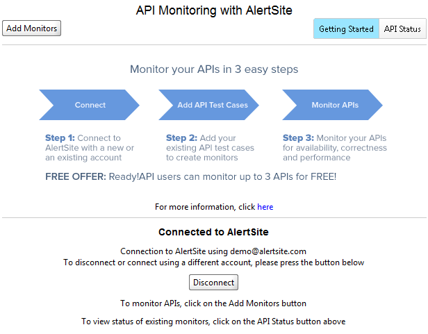 AlertSite API Monitoring is Fully Integrated into SoapUI 5.2