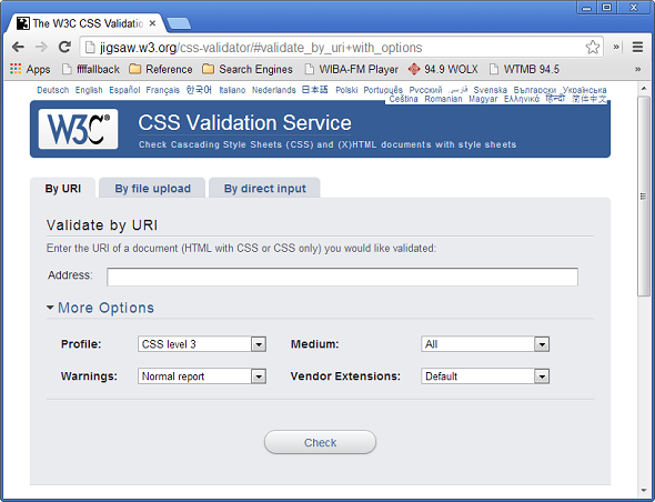 W3C-CSS-2