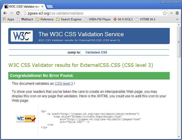 W3C-CSS