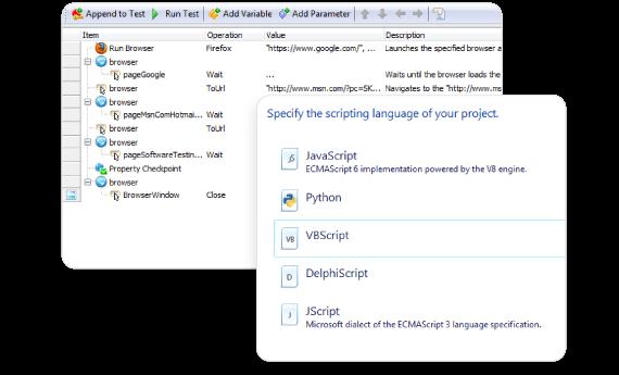 Script-Free or Code-Based Desktop Test Creation