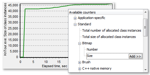 Monitor Memory Allocation in Real Time