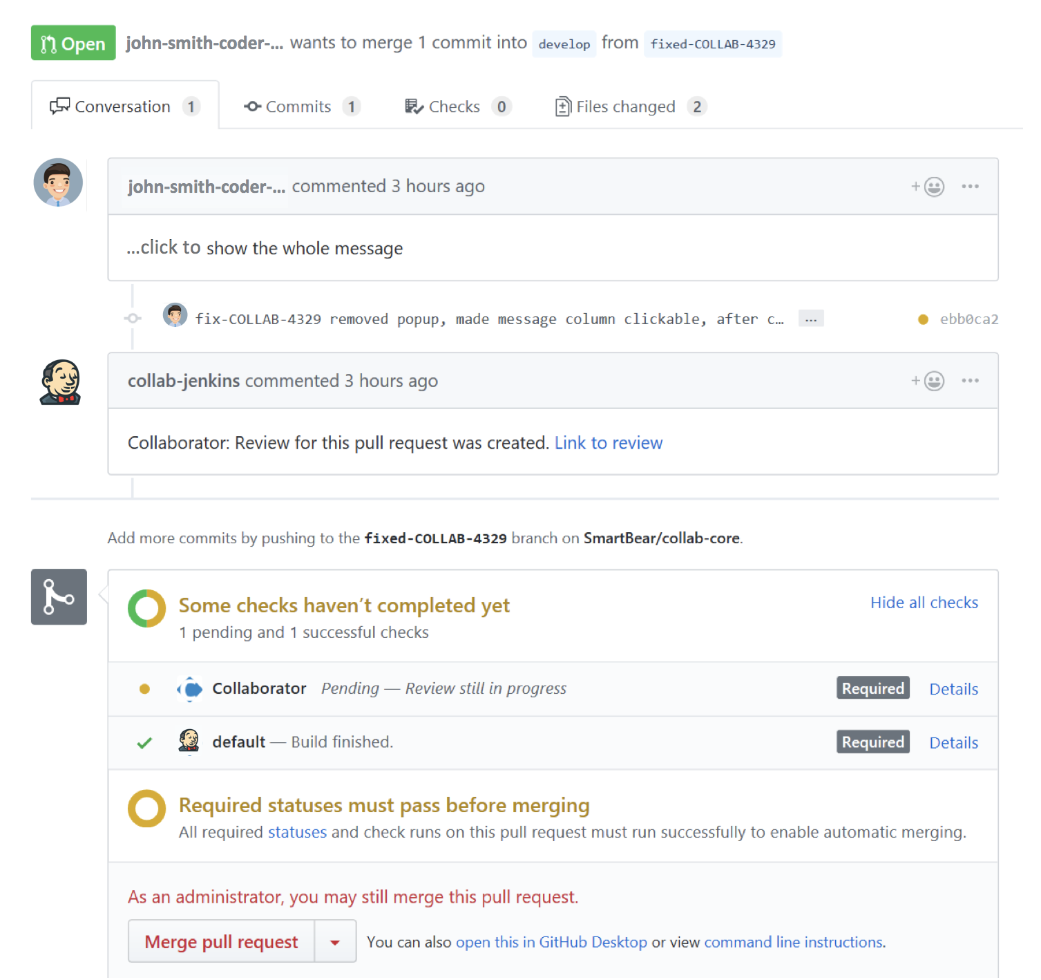 Integrate Github with Collaborator for Better Code Reviews