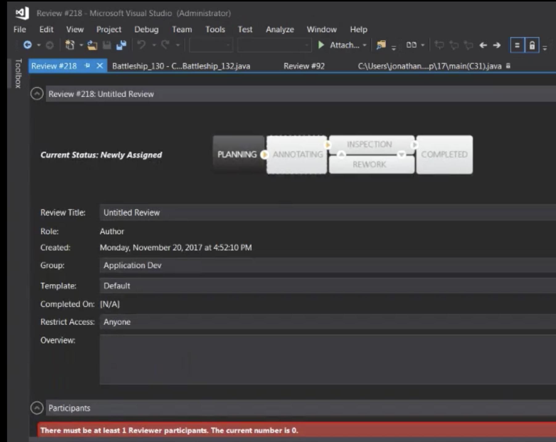 Code Reviews for Visual Studio with Collaborator   SmartBear