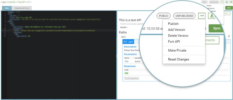 API Definition Managemernt - Versioning