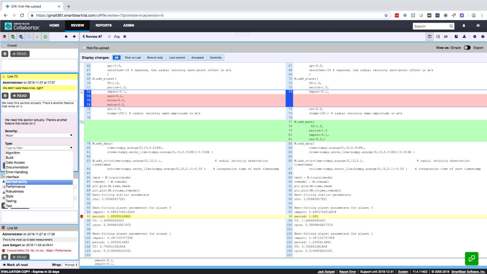 Feature List for the Premier Document & Code Review Tool | Collaborator
