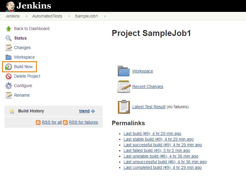 Jenkins tool