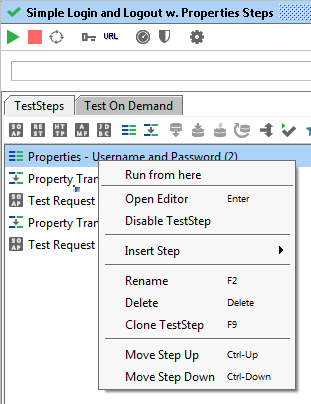 how to create test suite in soapui