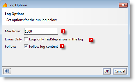 run-testcase-log-options