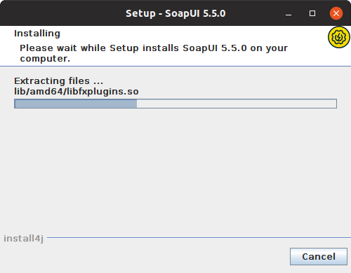 Installing SoapUI on Linux: Extracting files