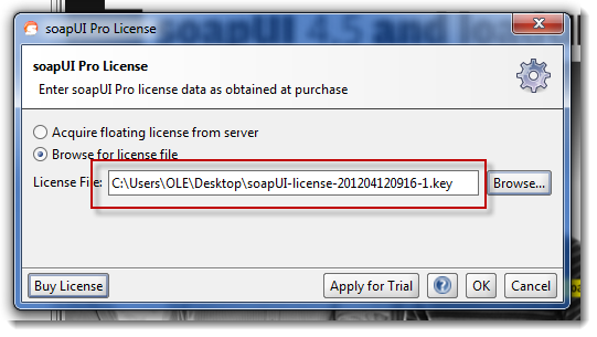 select-license-with-filename