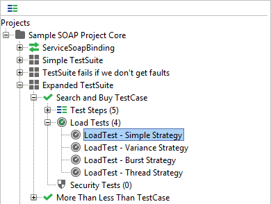 LoadTest Simple Strategy