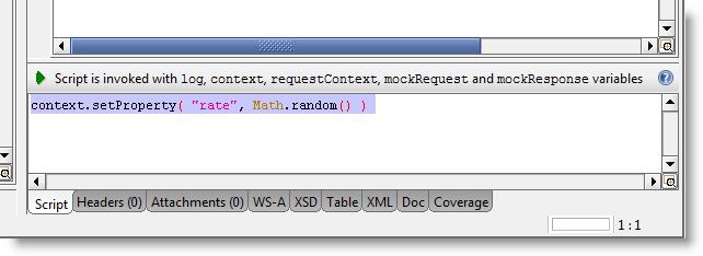 script in MockResponse