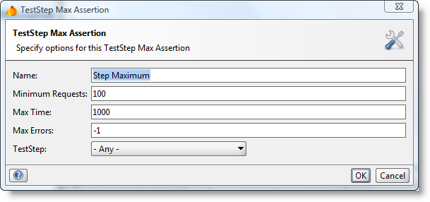 TestStep Max Assertion