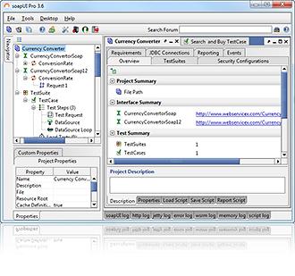 soapUI for Mac and Linux full screenshot