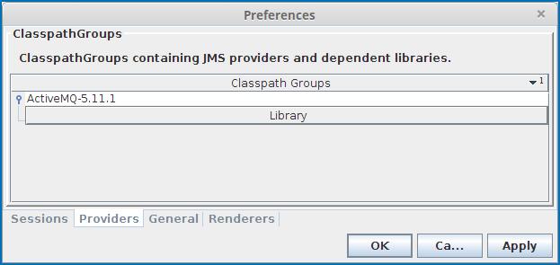 Configure | JMS