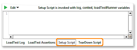 Setup and TearDown scripts