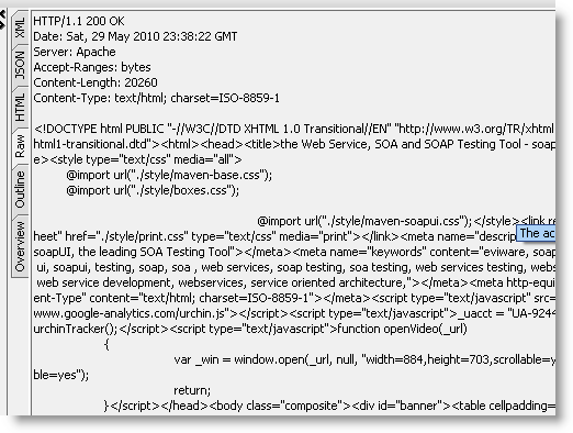 rest-response-raw-html-view
