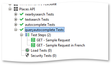 Queryautocomplete test case