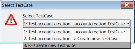 New TestSuite