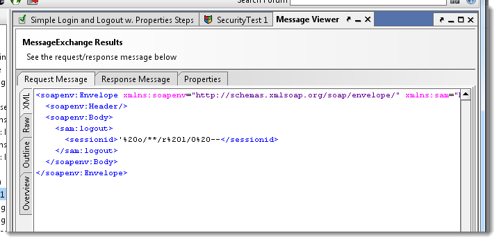 security-message-log
