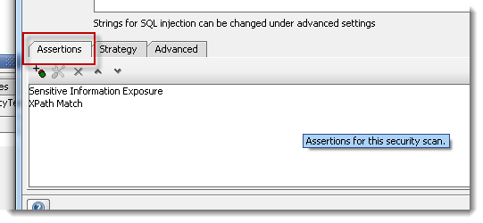 security-assertions-tab