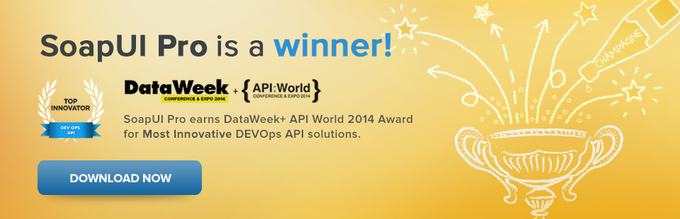 SoapUI Pro Data Week Winner