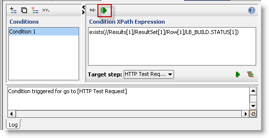 test conditional goto