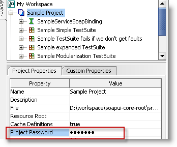 project-password-property