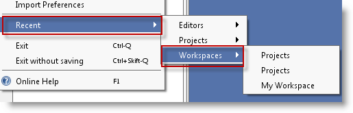 recent-workspaces-menu