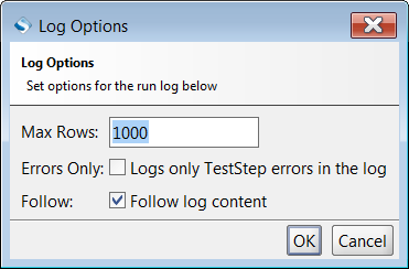 test-case-log-options