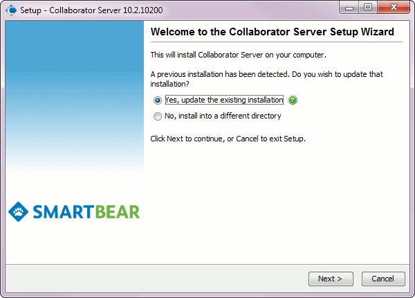 install_collab_upgrage