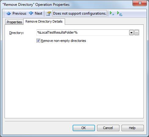 Remove Directory Properties