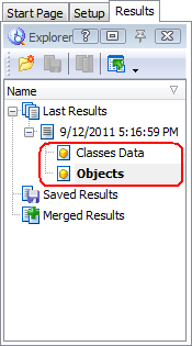 Figure 10. Classes Data and Objects Categories of the Results