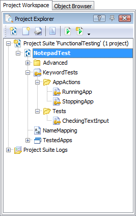 The Notepad Project's Structure